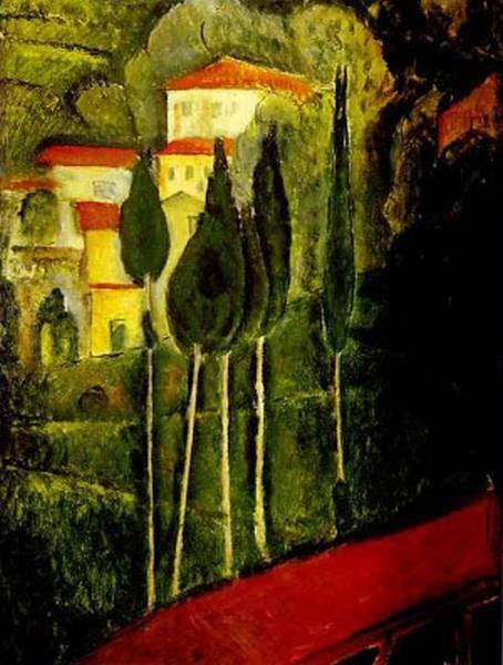 landscape 1919 XX galerie karsten greve cologne germany